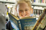 Jeff Kinney's Diary of a Wimpy Kid series   remains a borrowed favourite.