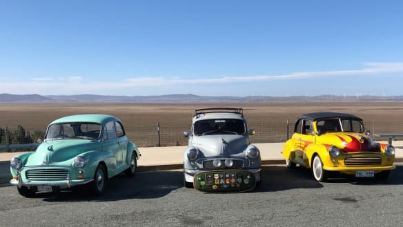 Morris Minors take to Canberra's roads to celebrate 70th anniversary