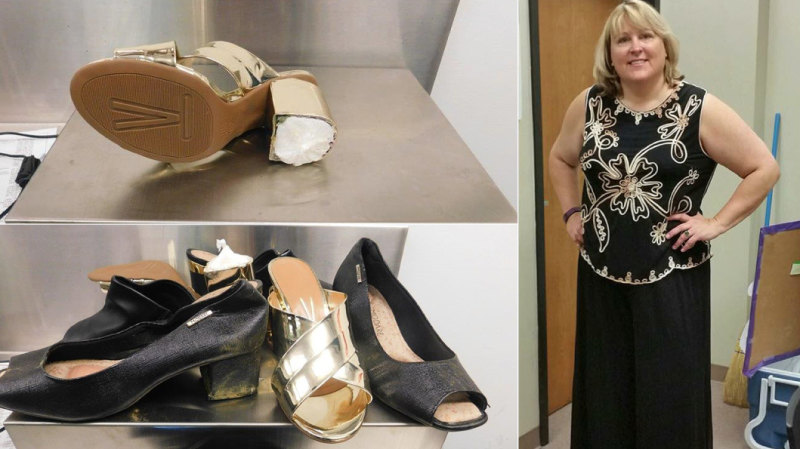 Devout US woman found with cocaine hidden in her shoes at Sydney Airport