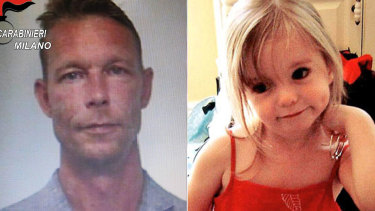 Christian Bruckner, the prime suspect in the disappearance of three-year-old Madeleine McCann.