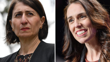 Jacinda Ardern may be the crowd favourite but Gladys Berejiklian has been a paragon of courage and competence.