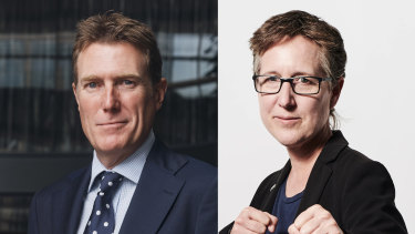Industrial Relations Minister Christian Porter and ACTU secretary Sally McManus have been talking regularly through the coronavirus pandemic about how to deal with workers and jobs.