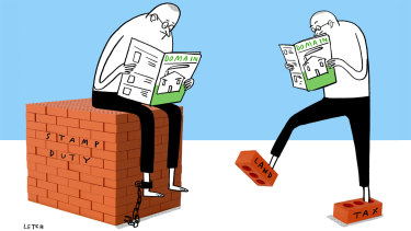 Stamp duty reforms may have feet of clay.