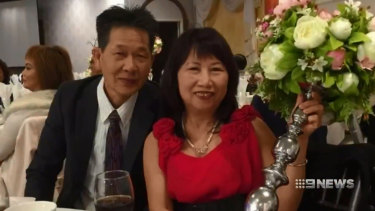 Huy Neng Ngo (left) died in an airbag malfunction at Cabramatta in Sydney's west in 2017.