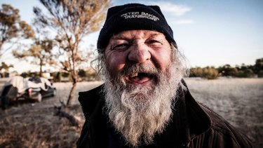 Dean Saffron's photo of Artie, known as The Wizard, taken while camel mustering in outback Queensland.