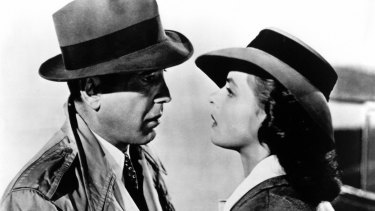 Here's looking at you kid ... Casablanca, the 1942 film with Humphrey Bogart and Ingrid Bergman, remains Garth Clarke's favourite movie.
