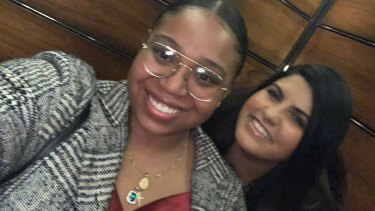 American friends 24-year-old Adriyanna Andreus and 27-year-old Marilyn Figueroa.