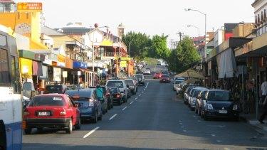 Boundary Street in West End, Brisbane.
