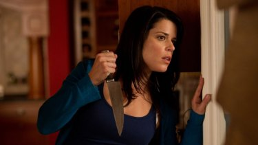 Neve Campbell stars in Scream.