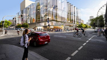 Design images for the new South Bank theatre.