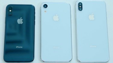 Dummy versions of Apple's three new phones have been seen across the internet, and have even ended up in the hands of Apple news sites like MacRumours.