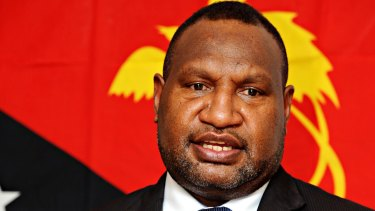 PNG Prime Minister James Marape wants more local firms to provide services on Manus Island.