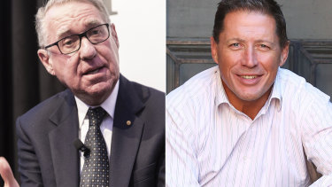 Neither David Gonski nor Phil Kearns can recall a meeting with Mark Stapleton.