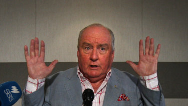 Alan Jones retired from radio earlier this year.