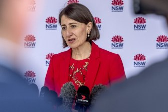 Premier Gladys Berejiklian and NSW Chief Health Officer Dr Kerry Chant provide a COVID-19 update on Christmas Day.