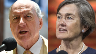Alan Jones has a lengthy history of disagreeing with Opera House boss Louise Herron.