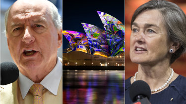 Alan Jones has apologised to Opera House boss Louise Herron.