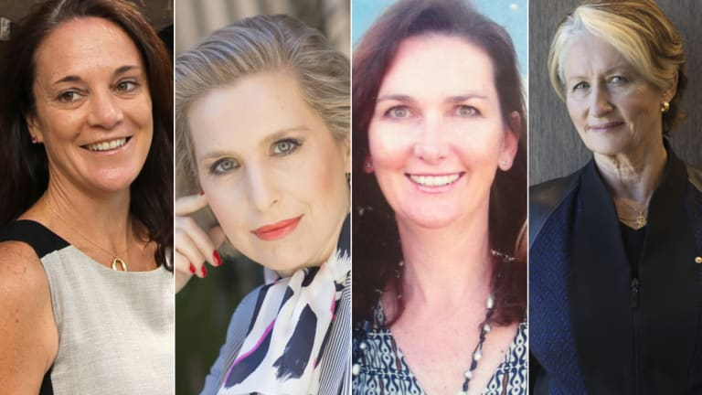 The women of Wentworth? Katherine O'Regan, Maxine Szramka, Mary-Lou Jarvis and Kerryn Phelps, who is still undecided.