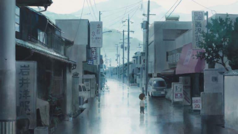 A scene from Mirai.