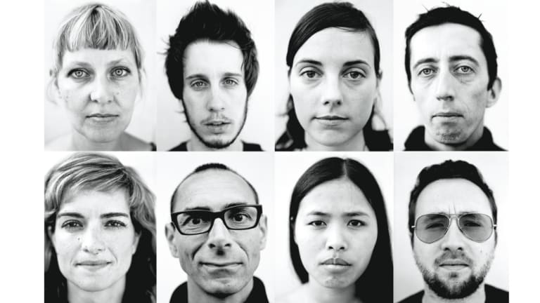 """""""One second after I took those portraits, the faces were already different."""""""