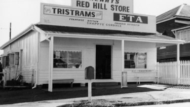 Frank Corley's 'drive-by' photo of Red Hill store in the 1960s.