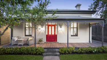 Chrissie Swan's former South Yarra home.