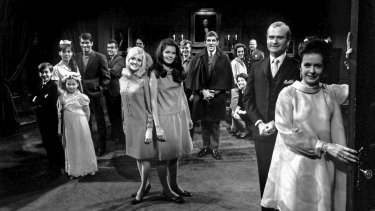 The 1960s gothic soap Dark Shadows.