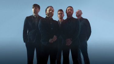 Death Cab For Cutie's Ben Gibbard (far left)  says the band shouldn't ever feel constrained.