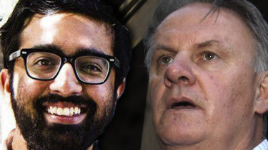 Osman Faruqi and Mark Latham faced off in the Federal Court over a defamation claim.