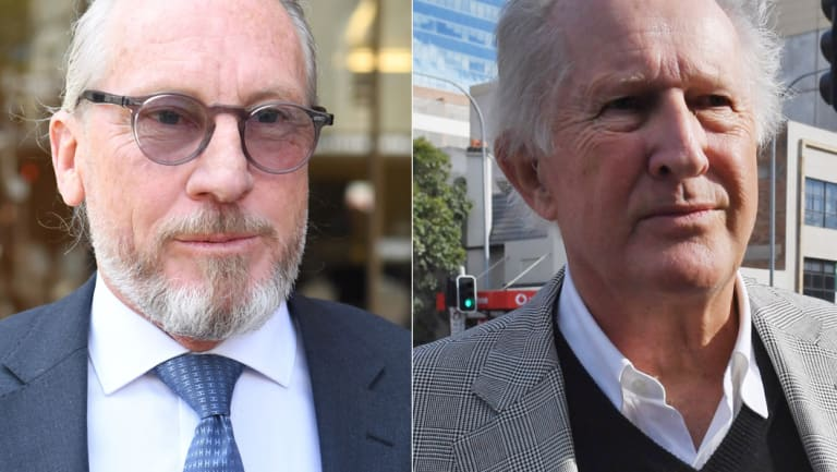 Peter Higgins and John Marshall.