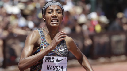 Dutchwoman Hassan breaks women's mile world record