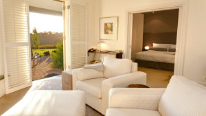 Located in the heart of the Barossa Valley, The Louise has 15 suites.