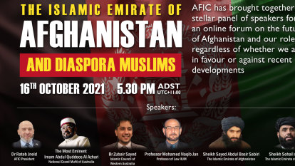 Islamic council cancels forum featuring Taliban members after backlash