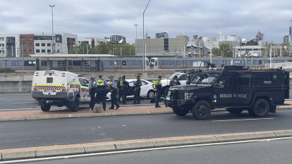 Police probe organised crime links after alleged carjacking culminates with shots fired on Graham Farmer Freeway