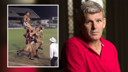 Former AFL player convinced he's showing symptoms of CTE