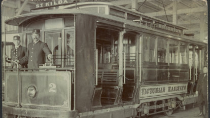 From the Archives, 1906: The St Kilda to Brighton electric tramway opens