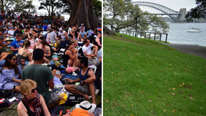 Then and now: A very different New Year's Eve in Sydney