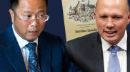 Chinese Communist Party-aligned billionaire Huang Xiangmo paid tens of thousands of dollars to a former Liberal minister to secure a one-on-one meeting with Peter Dutton as Mr Huang mounted a back-room campaign to win Australian citizenship.