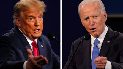 Biden goes on offence in Georgia while Trump targets Midwest