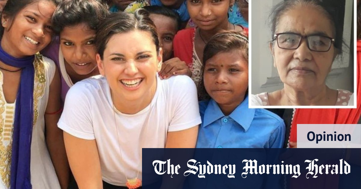 She taught me how to wear a sari. A few weeks ago she died of COVID – The Sydney Morning Herald
