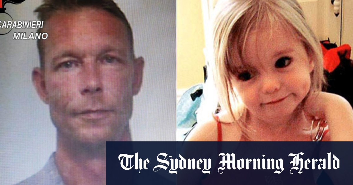 Madeleine McCann suspect will never talk to police says lawyer – Sydney Morning Herald