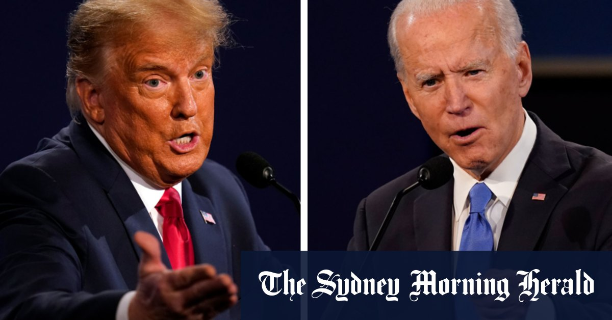 Biden goes on offence in Georgia while Trump targets Midwest – Sydney Morning Herald