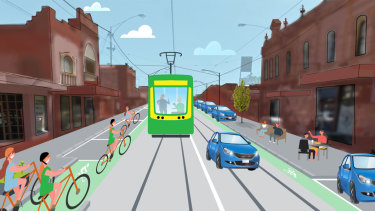 Fresh designs of a long-awaited Sydney Road overhaul have been released by VicRoads, but permanent and protected cycling lanes are still not guaranteed.