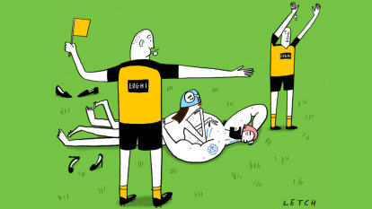 Blurred lines: The sad NRL reality show consumed at first sight