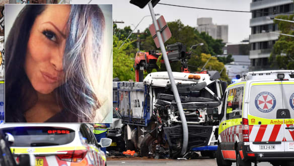 Woman killed in horror truck crash 'loving bubbly mother of four'
