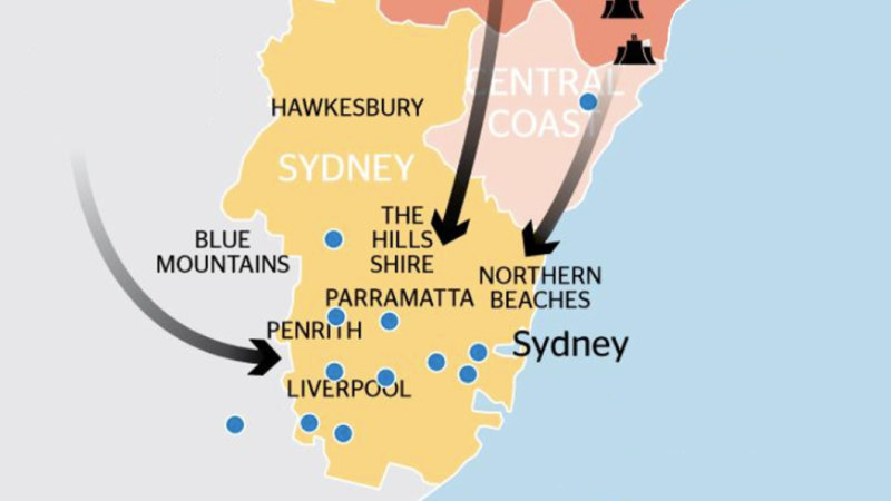 Liddell, Vales Point, Bayswater coal power plants in NSW