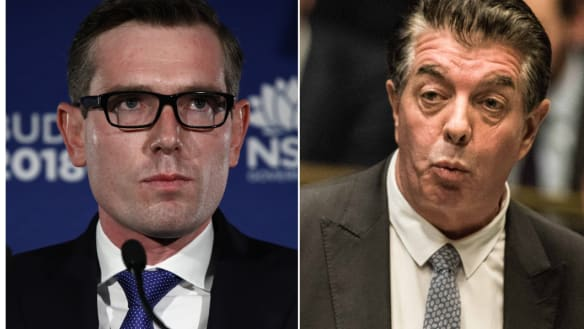 NSW Treasurer takes on fellow minister in nasty preselection battle