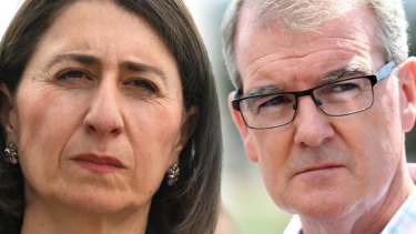 Gladys Berejiklian and Michael Daley.
