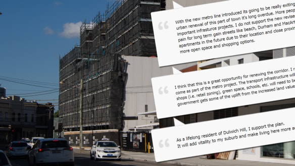 The submissions declared it 'a prime location' for development - but they were fake