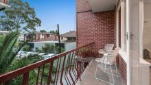 A two-bedroom, south-facing unit at11/11 Herbert Street, St Kilda, advertised for between $600,000 and $640,000, sold at auction on Saturday for $730,000.